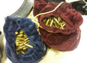 Bags of AK47 rounds