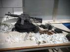 Cocaine, radio transmitters and ammo