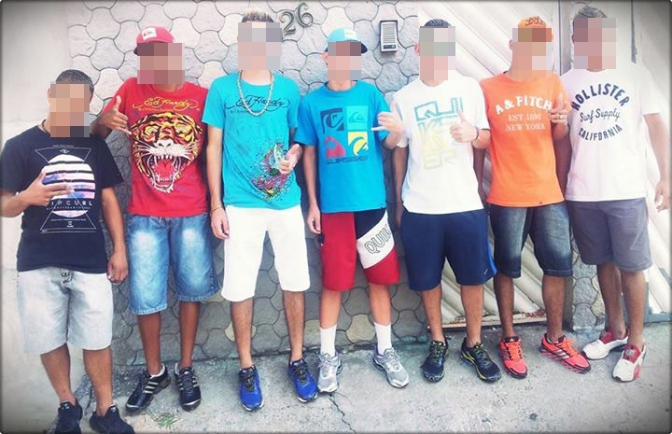 Six steps for dressing flashy in Brazil: youth edition