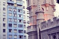 Old and new buildings in Belo Horizonte