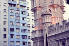 Old and new buildings in Belo Horizonte