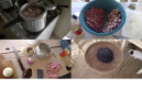 How to make Feijoada - black beans, rice, pork, garlic and onion