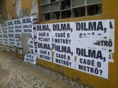 "Dilma, Cade o Metro? (""Where is the Metro?"")"