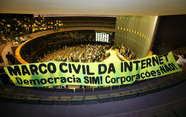 "Brazil signs first ""Internet Constitution"" into law, with social media protest loopholes"