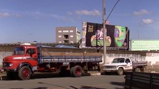Truckers in Brazil