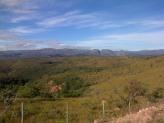 A deep cut runs through the mountains of Minas Gerais