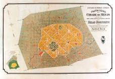 Map of Belo Horizonte when it was originally built