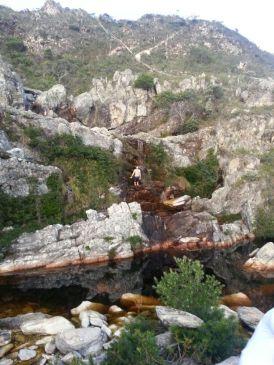 Waterfall in Lapinha da Serra